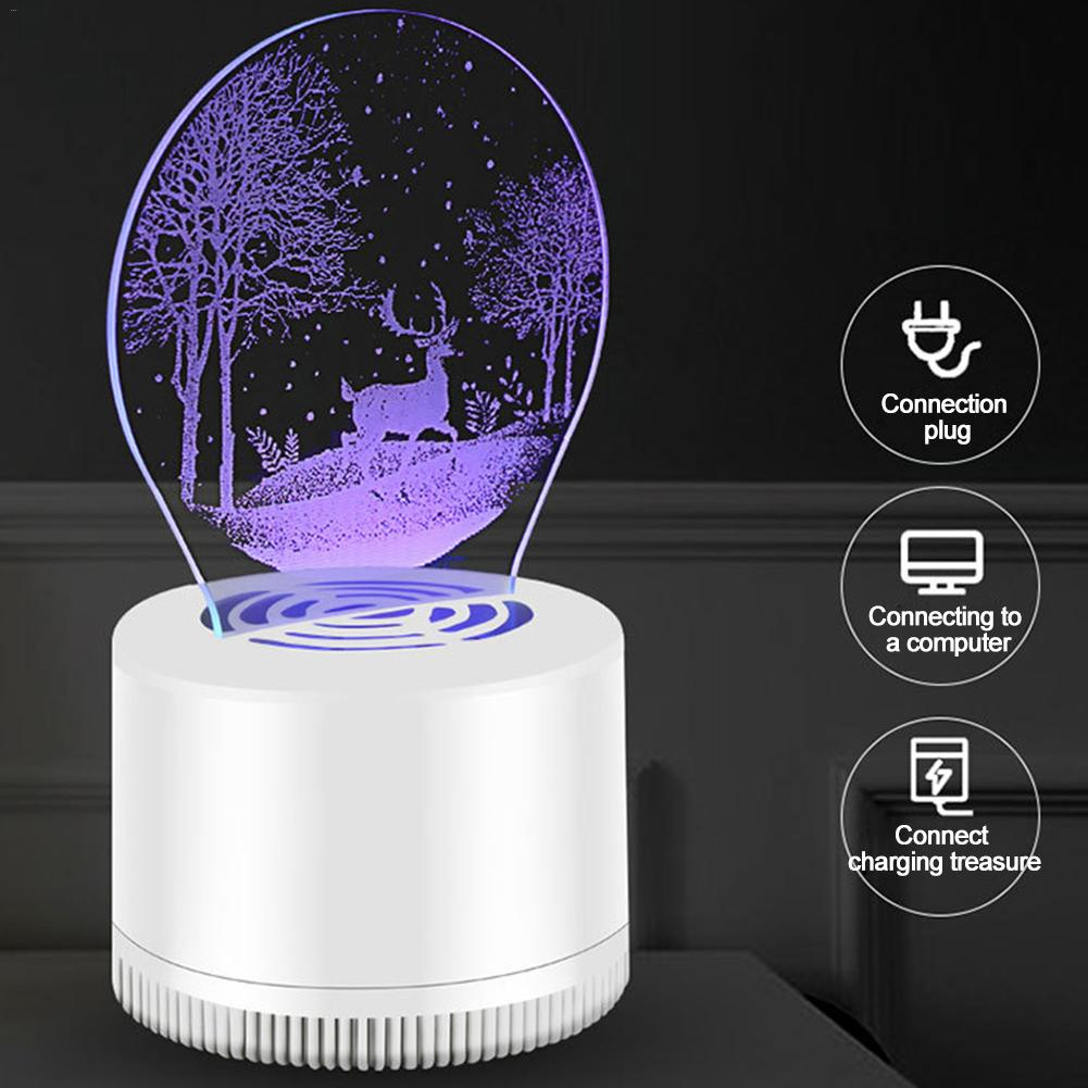 Новая модернизированная USB электрическая противомоскитная лампа, репеллентная лампа против насекомых, светосветильник лампа для комаров