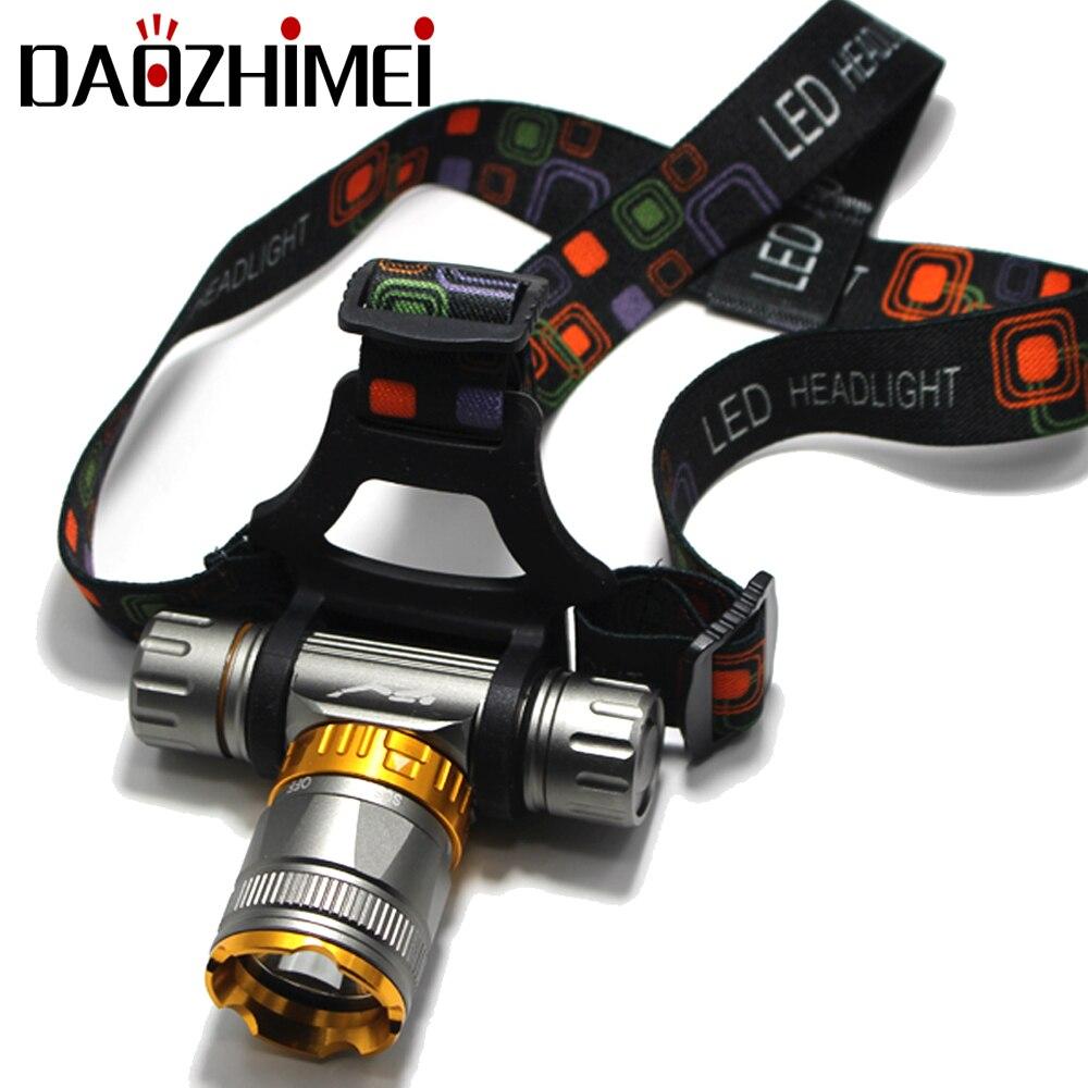 swiming Diver XM-T6 Diving LED headlamp Waterproof Headlight Led swimming Flashlight bicycle light Fishing Lamp Use 18650 batter