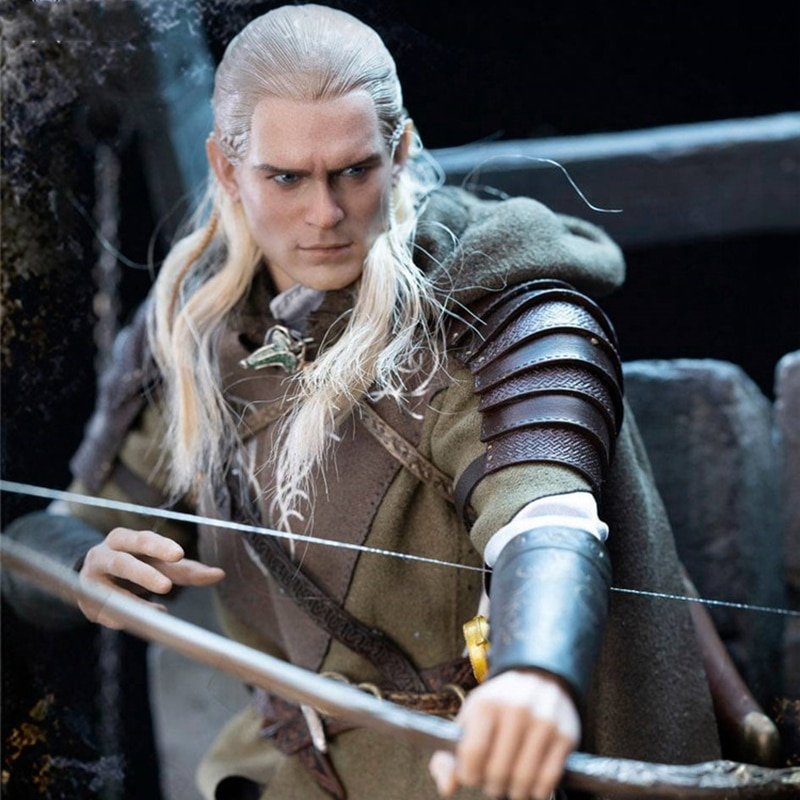 Asmus Toys 1/6 LOTR029 Male Elf Prince LEGOLAS AT HELMS DEEP Action Figure Model for Fans' Holiday Birthday Gift