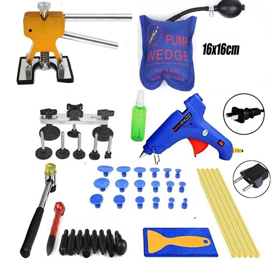 Mesmo para o Corpo do Automóvel Kit de Ferramentas de Remoção Paintless Dent Faça Você Motocicleta Geladeira Carro Reparação Ferramentas Kit Ferramenta Bolsa Pdr