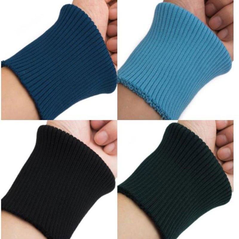 40cm 1 Pza wawenthband pliegue sobre pulsera elástica par chaqueta puños pantalones brazalete ajuste ropa DIY accesorios de costura