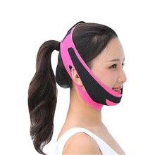 Face Slimmer Beauty Jaw Exerciser Facial Lifiting Belt Slim V-Line Lift Up Belt Reduce Double Chin B