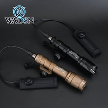 WADSN Airsoft Surefir M600 M600C Scout Flashlight 340Lumens LED Tatical Hunting Gun Weapon Light wit