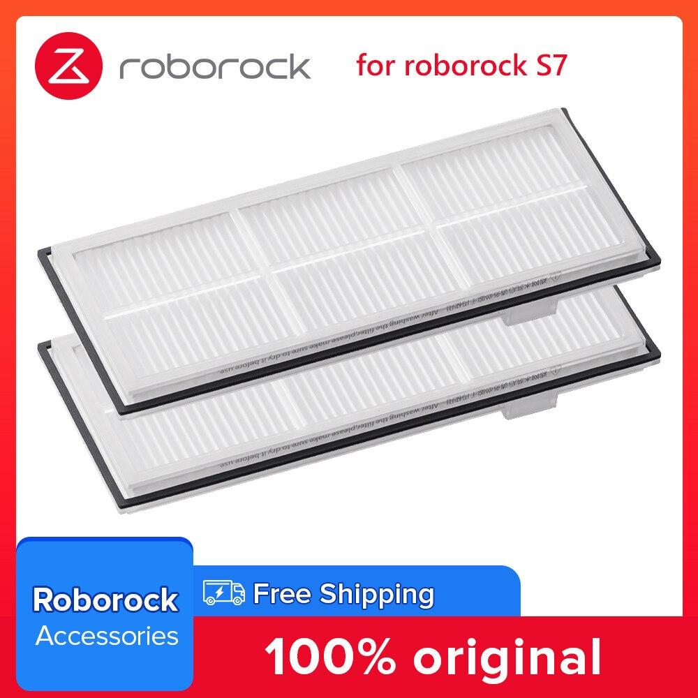 أجزاء مكنسة روبوروك الروبوتية-فلتر قابل للغسل-لوضع Roborock S7 العلوي-الإنجليزية-60-أبيض