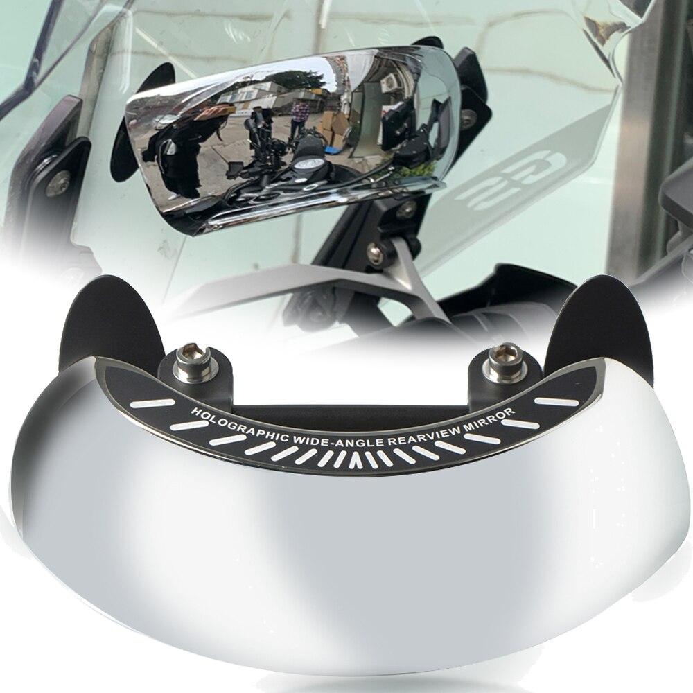 Espejo retrovisor convexo redondo de gran angular para BMW F800GS F700GS F800 F700 F 800 700 GS R1250GS