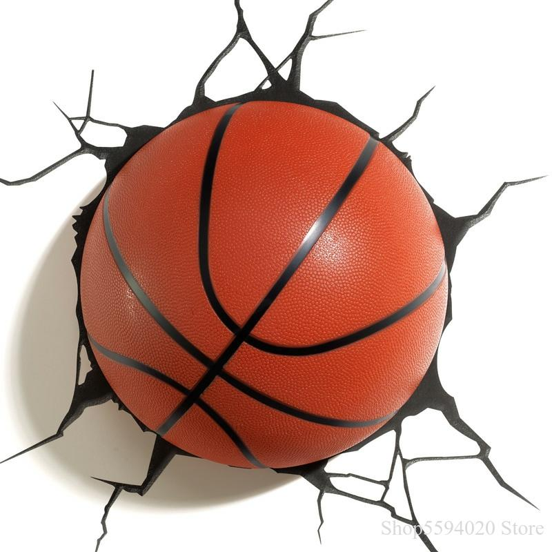 TRAUM MASTER Basketball Fußball Führte Wand Lampe Tennis Baseball Animation Modell Kinderzimmer Wand Lampe Lustre Led Moderne