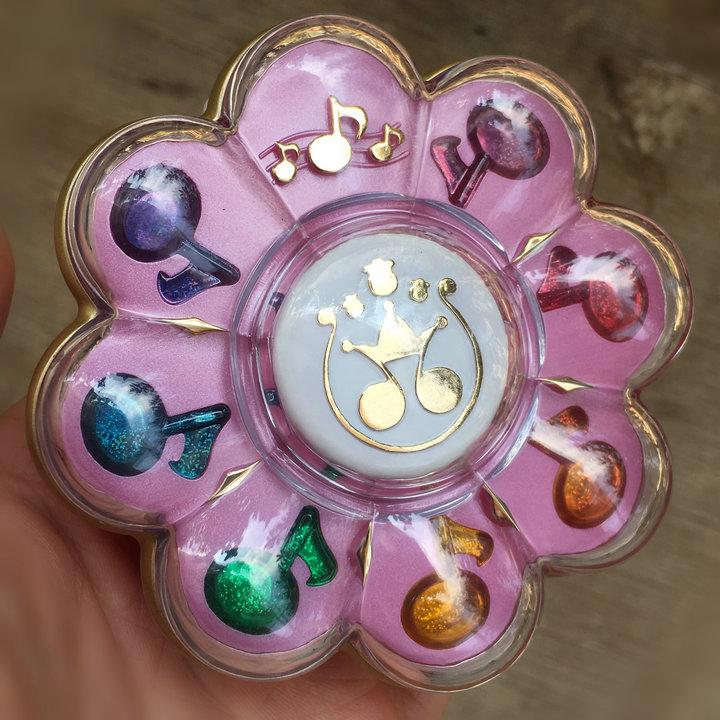 Magical DoReMi Ojamajo Doremi Original LOOSE PACKAGE Jewelry Box Makeup Powder PVC Model Toys Action