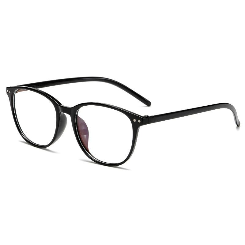 إطار برونز من Bijziendheid Bril Vrouwen Mannen Klassieke Ronde Kortzichtig Leesbril Dioptrie De Nieuwe Brillen