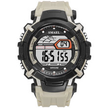 SMAEL Watches Men Led Digital Watches Men Sports Watches Fashion Waterproof Electronic Wristwatches