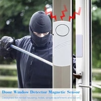 Nouveau sans fil porte fenetre securite antivol alarme magasin maison antivol capteur sans fil systeme plus long dispositif de securite