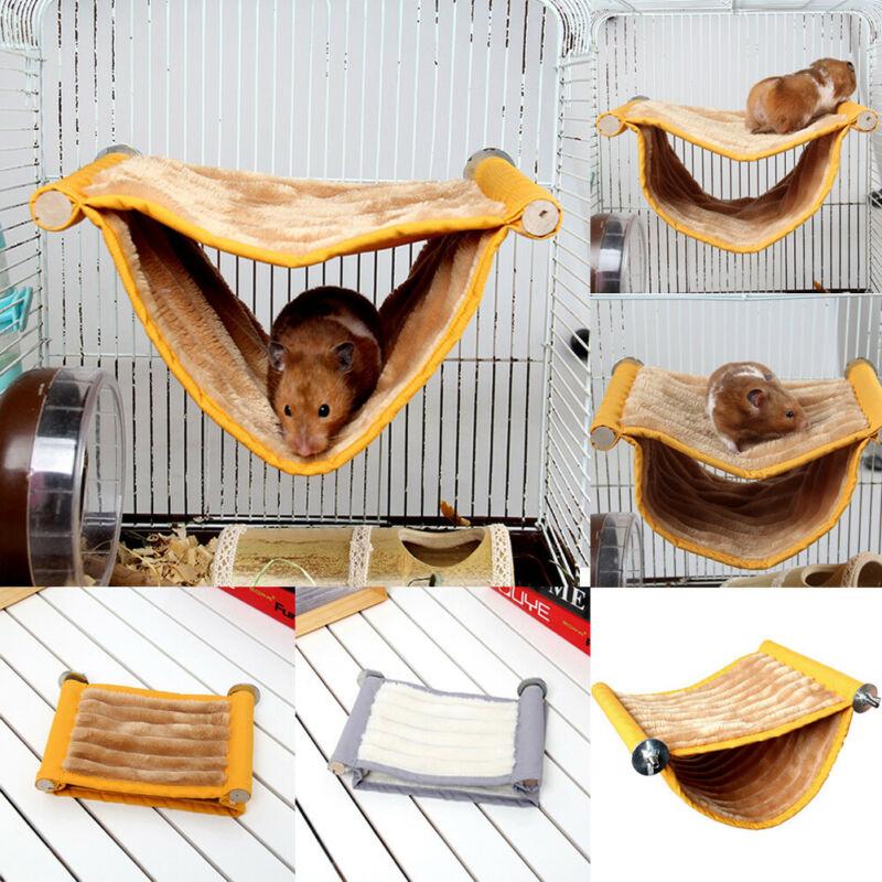 Chomik wiszący dom klatka śpiąca gniazdo łóżko dla zwierząt szczur chomik świnka morska zabawki króliczki klatka huśtawka zwierzęta małe zwierzęta dostawa