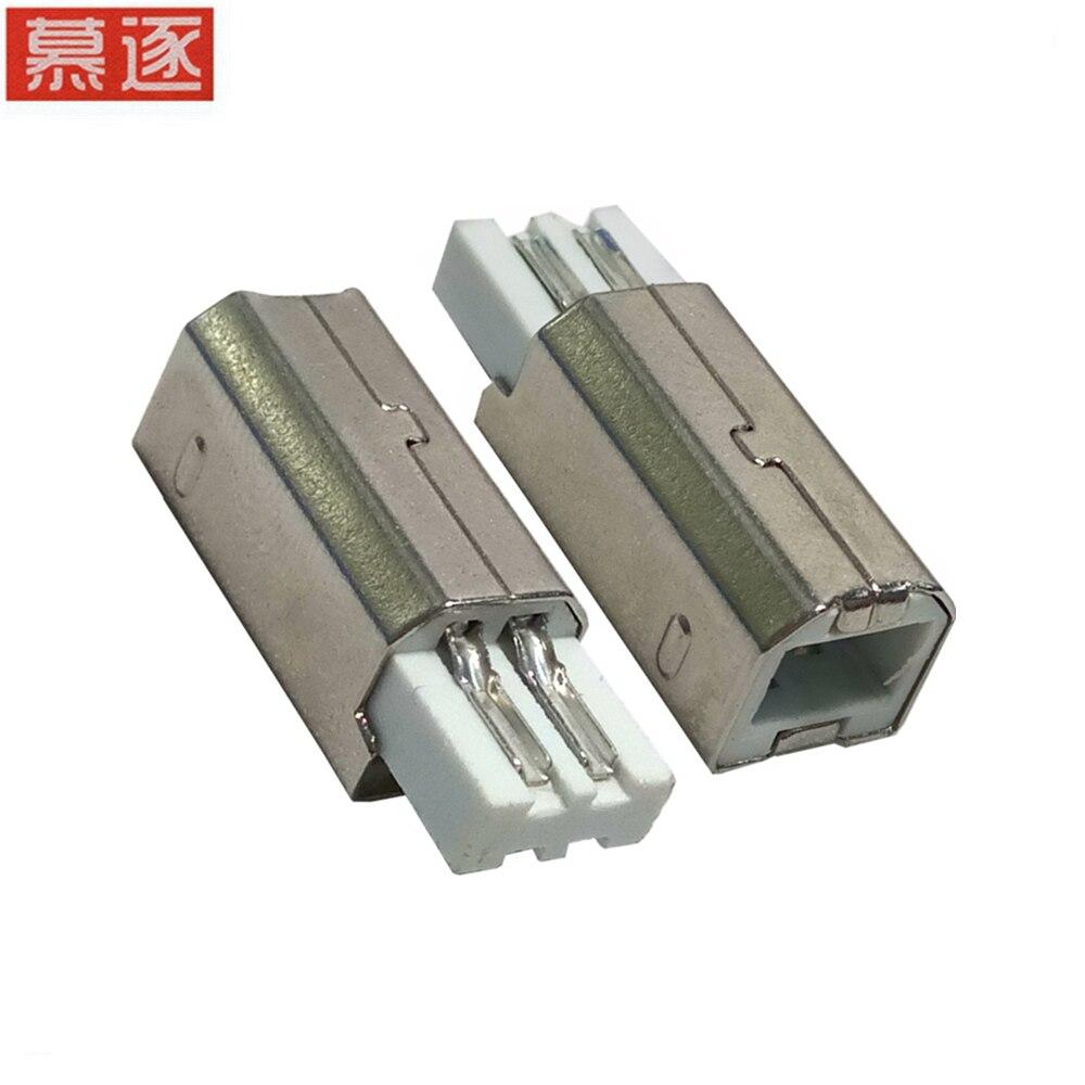 Enchufe de impresión USB B/M, enchufe común de impresora de cable de...