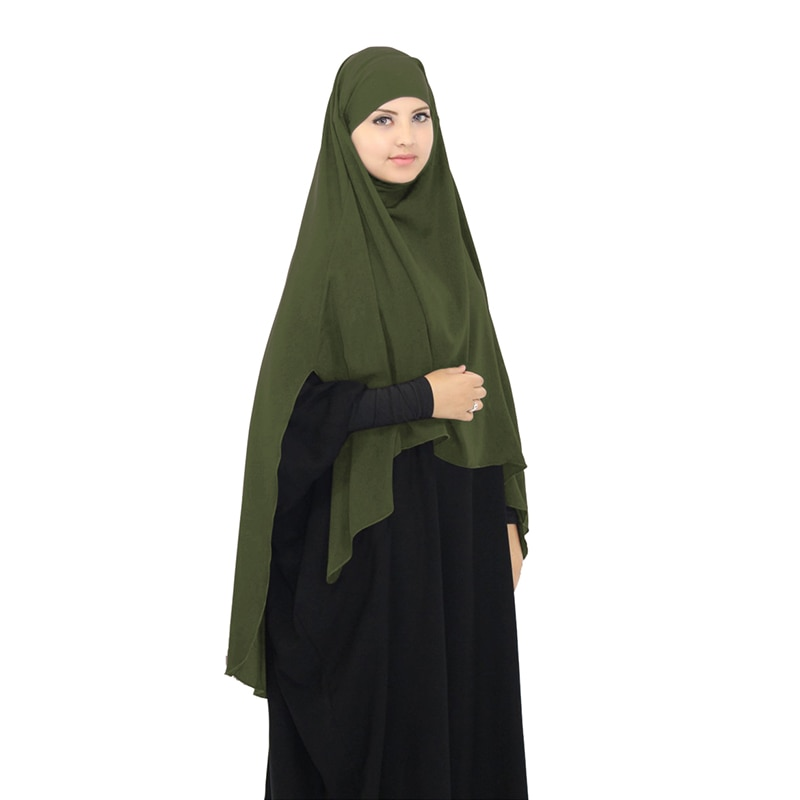 Muslim styles khimar Hijab Prayer Wear Woman Jilbab Islamic Products Burka Headscarves Turkey Prayin