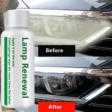 Liquide de réparation de phare de voiture   Agent de retouche de lampe, élimine les rayures, résout les problèmes doxydage de jaune flou