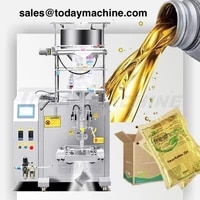 ce approved side sealing vertical fill seal automatic bag liquid packing machine