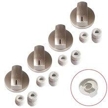 İtimat Button 4 pcs Team Flush Cooktop Button-TYPE 1 Gray Staninless HT-SÜ0011-21