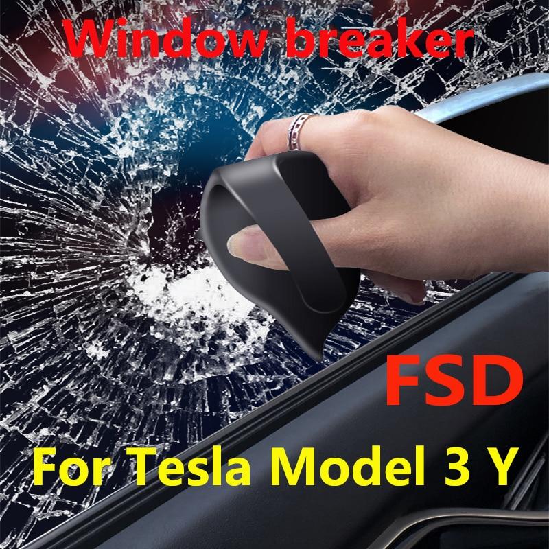ل تسلا نموذج 3/Y عجلة القيادة الجاذبية الاستشعار مساعد القيادة حلقة FSD التلقائي القيادة الدائري ، كسر نافذة قطعة أثرية