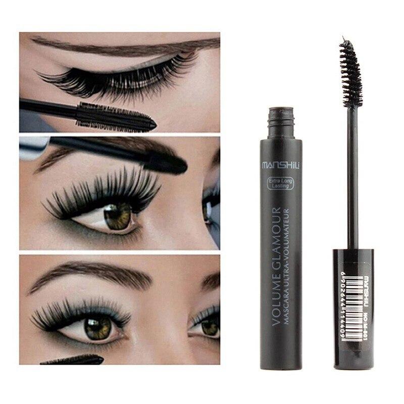 3D Mascara Makeup Lengthening Eyelash Extension Women Waterproof Fast Dry Long-wearing Lasting Masca