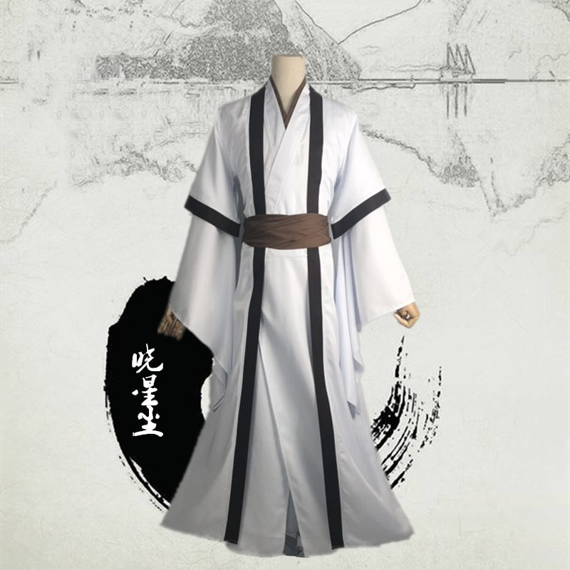 Disfraz de Cosplay de Mo Dao Zu Shi Xiao Xingchen, disfraz de cultivo demoníaco para hombres, peluca de Anime para adultos, trajes antiguos chinos