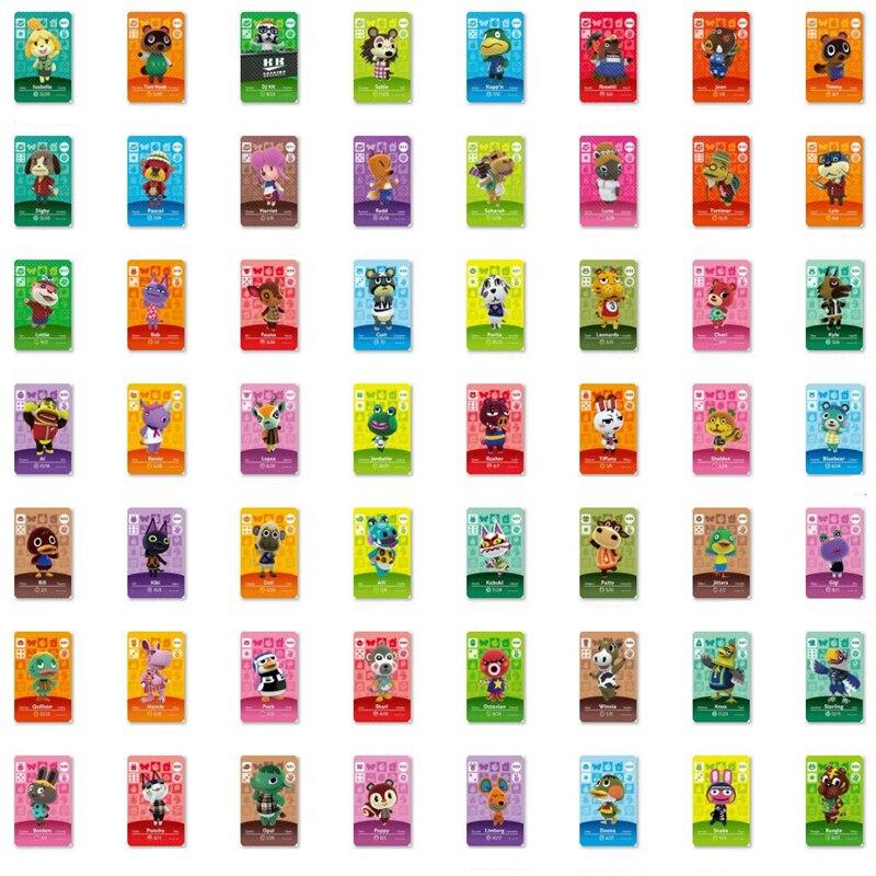 Animal Crossing Karte Series1 zu Serie 4 (001 zu 400) Perfekt kompatibel Amiibo spiel schlösser nfc Karte Arbeit für NS spiele Serie