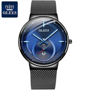 OLEVS Sports Date Mens Watches Top Brand Luxury Waterproof Fashion Cool Watch Men Ultra Thin Dial Quartz Watch Relogio Masculino