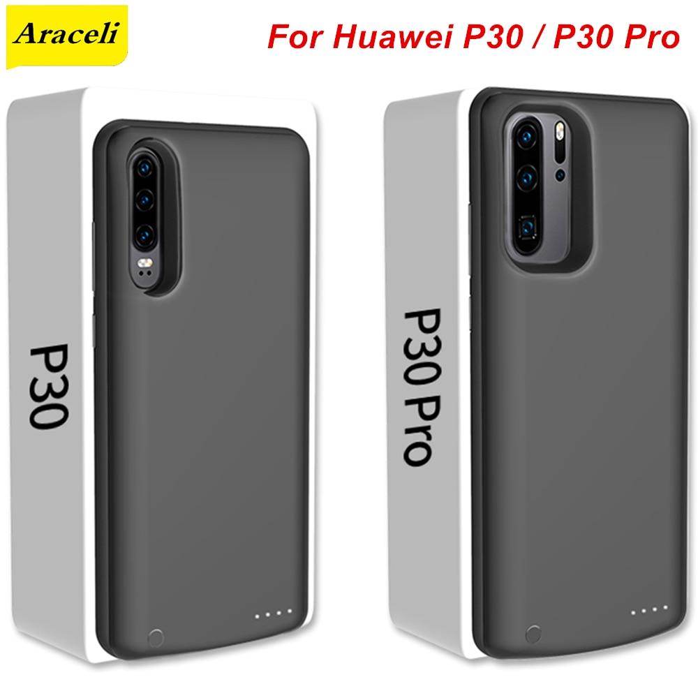 Araceli para Huawei P30 P30 Pro, funda para cargador de batería, funda para teléfono inteligente, batería externa para Huawei P30 Pro, funda para batería P30 Pro