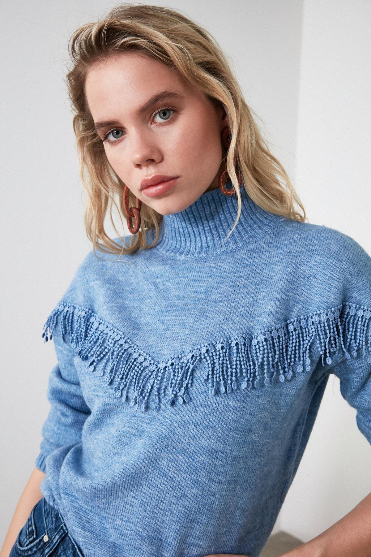 Trendyol Accessory Detailed Knitwear Sweater TWOAW21KZ0029
