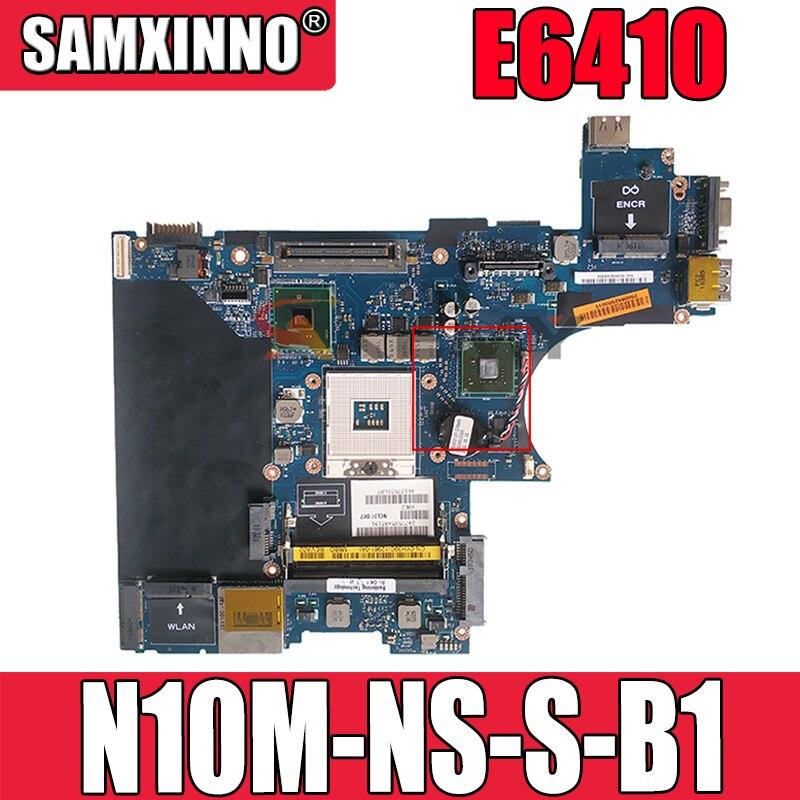 الأصلي اللوحة المحمول لديل خط العرض E6410 اللوحة CN-0CDK0T 0CDK0T LA-5472P HM57 N10M-NS-S-B1 DDR3