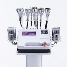 8 en 1 minceur corps de Cavitation minceur masseur Lipo gros brûleur Cryo Photon galvanique vide perte de poids Machine Radio