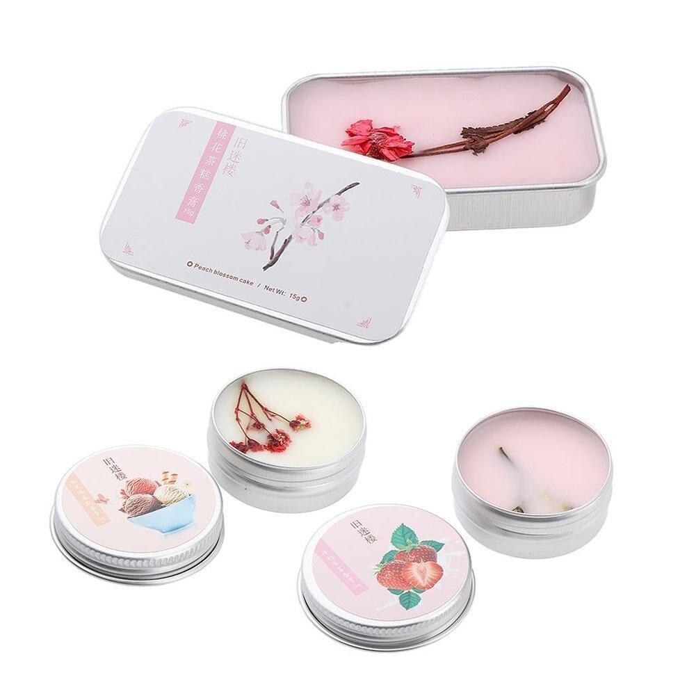 1 ud. Estuche portátil Perfume sólido 3 tipos de fragancia bálsamo cuerpo desodorante fragancia Perfume sólido para hombre o mujer