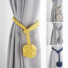 Rideau corde à suspendre balle cravate dos rideaux Voiles * 1