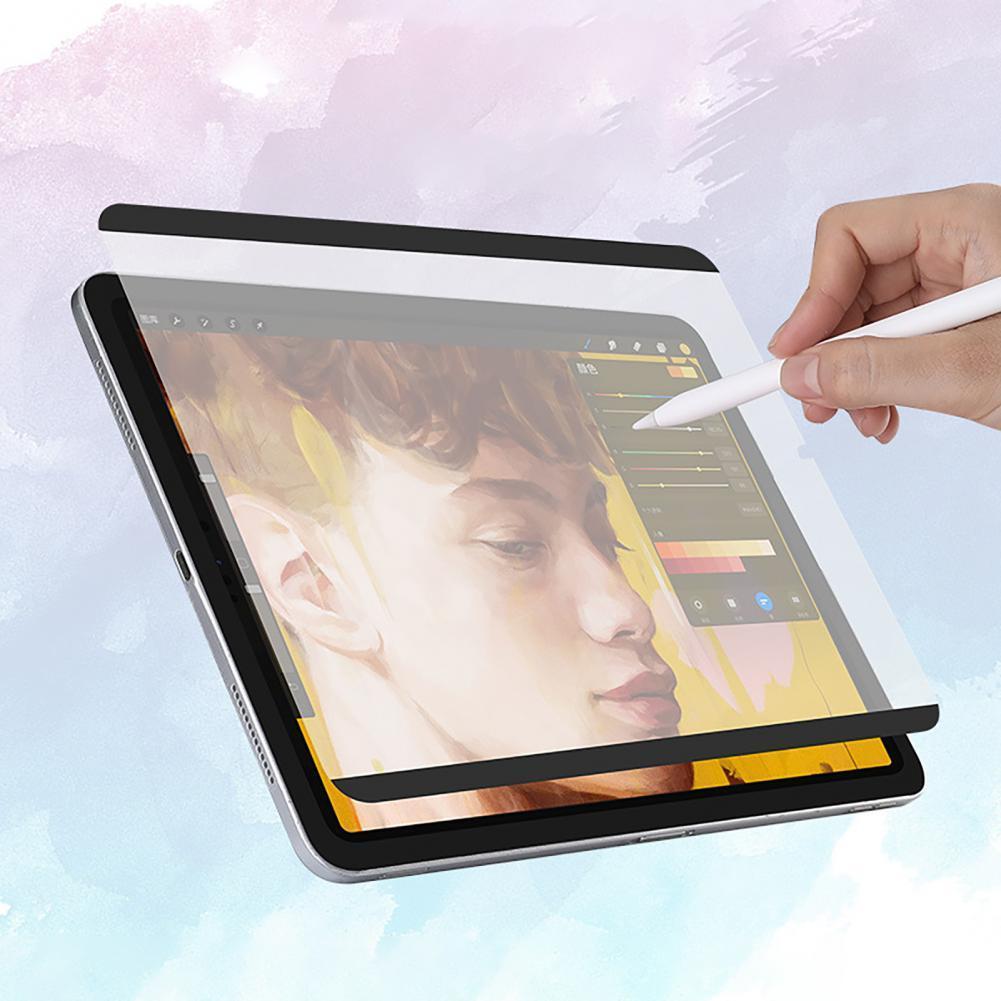 Магнитная съемная защитная пленка для экрана в виде бумаги для iPad 7/8 Air3/4 Pro 2018/2020/2021 11/12, 9 дюймов