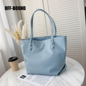 Women's Tote Bags High Quality PU Leather Classic Bag Soft Single Shoulder Purse Casual Shopping Bag For Female Fashion Handbag