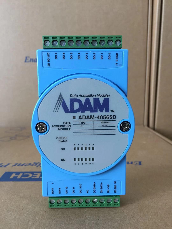 Advantech ADAM-4056SO 12-way معزولة وحدة الإخراج الرقمي شفط نوع المصدر العلامة التجارية الجديدة الأصلية