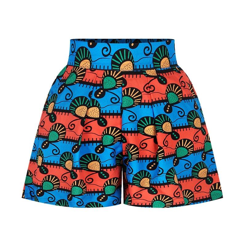 Pantaloncini con stampa floreale africana abiti Casual da donna abiti africani per donna pantaloncini da spiaggia estivi Harajuku abiti africani da donna XL