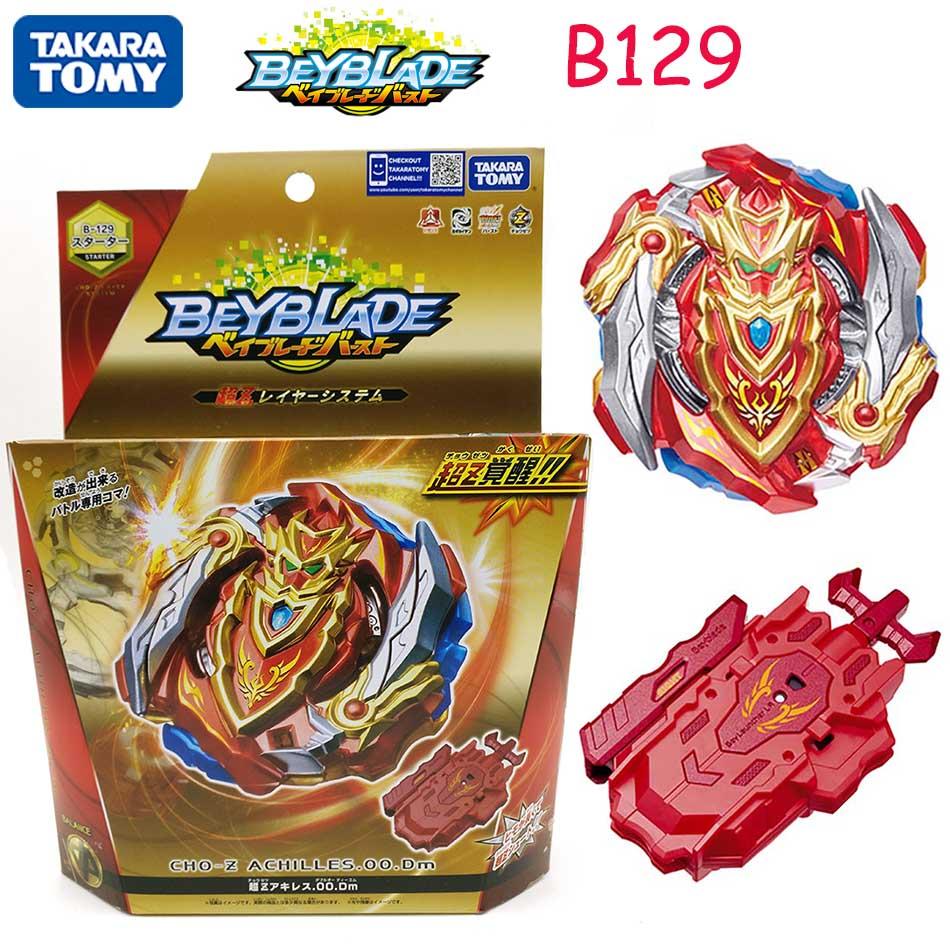 TAKARA TOMY Beyblade explosión fafnir B-129/B-139 CHO-Z Valquiria Z Ev con lanzador de Bayblade ser hoja superior spinner juguete para los niños