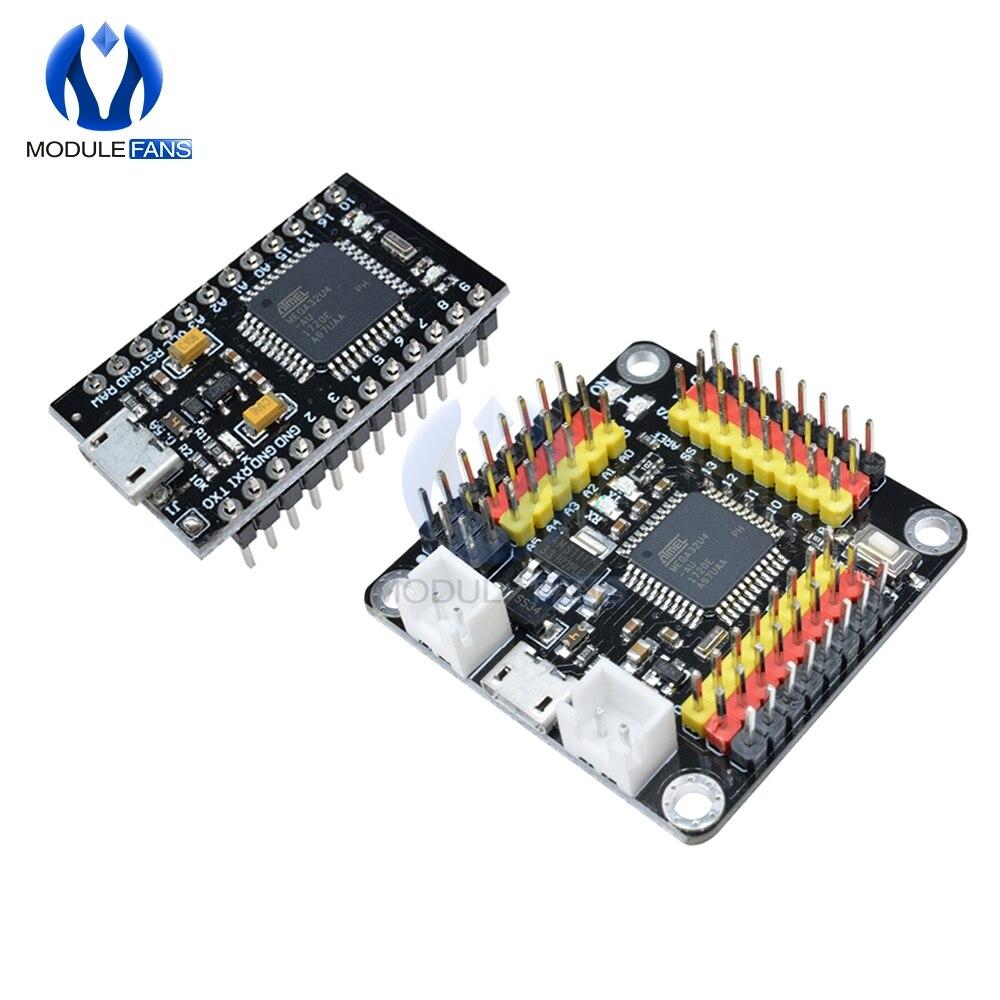 2019 новейшая версия Pro Micro ATmega32U4 ATMEGA32U4-AU 3,3 V 5V 8MHz 16 модуль MHz USB плата контроллера для Arduino Nano
