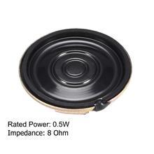 10PCS/lot 8 ohm 0.5W Horn Speaker 40MM 4CM Diameter 1/2W 8R 0.5W Small Loudspeaker Electronic Ultra-thin Speakers For Arduino