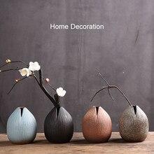 Rétro exquis en céramique hydroponique ikea bana Vases à la main poterie cadeau bureau décor à la maison livraison directe