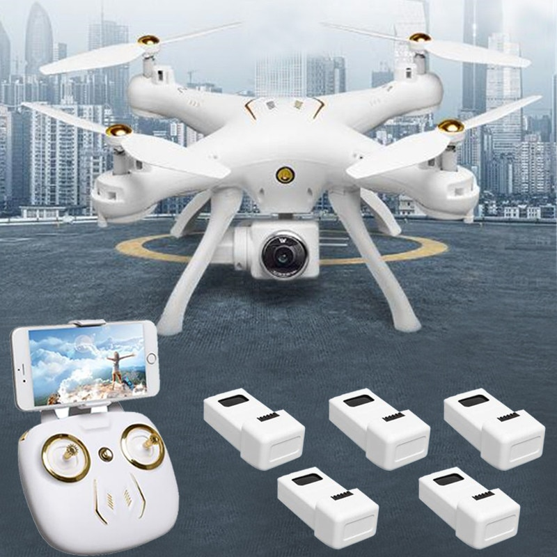 Dual GPS Drone With Camera HD Quadcopter ESC Wide-angle Camera Trajectory flight Gravity Sensor Surround Flight Helicopter Dron
