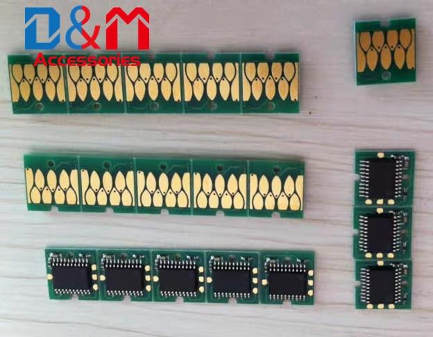 1x Cartucho de Uma Vez Chip T41F5 T41F2 T41F3 T41F4 Europa UE Para Epson SureColor SC-T3400 T3400N T5400 T5400M T5405 T3405 T3405N