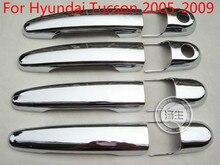 Hohe-qualität ABS Chrom Türgriff Abdeckung Für Hyundai Tucson 2005 2006 2007 2008 2009 Auto-styling Auto-deckt