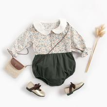 31 Styles Autumn Long Sleeve Baby Clothes New Fashion Floral Newborn Baby Girl Romper Infant Baby Ju