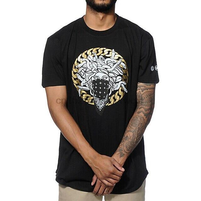 Camiseta negra de Crooks and Castles talla S a 3XL