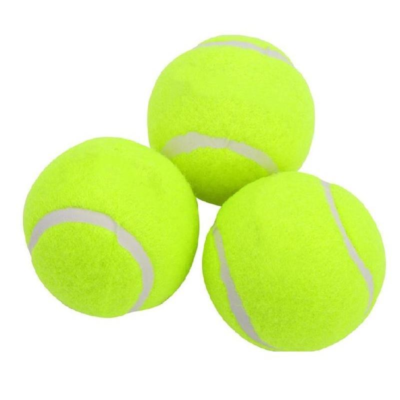 Теннисные мячи, резиновые тренировочные теннисные мячи для детей, женские теннисные мячи с высокой упругостью, тренировочные теннисные мяч...