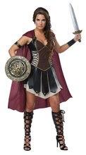 Costume de gladiateur glorieux, déguisement de princesse de guerrière romaine, déguisement Cosplay
