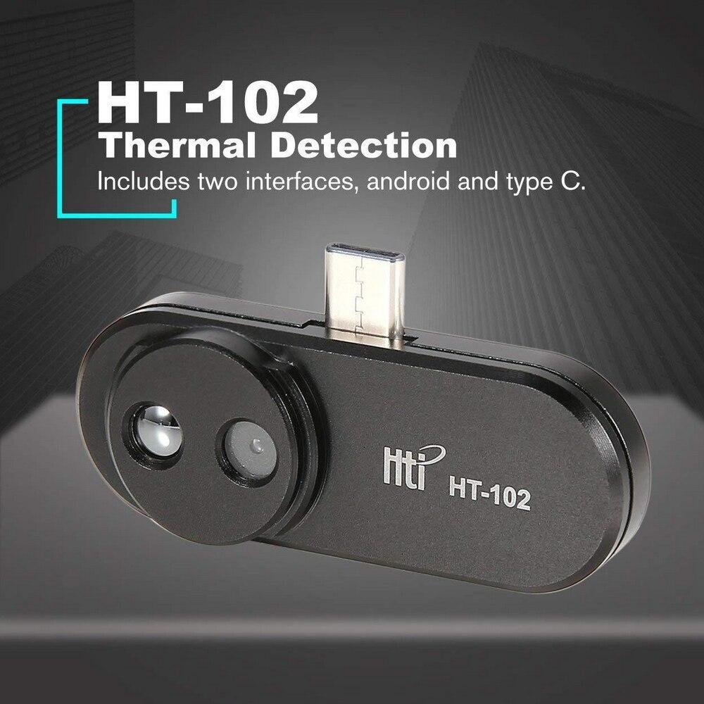 HT-102 Термальность Imager Камера ручной мобильный телефон Термальность изображений Температура Детектор инфракрасный тепловизор для Android Тип C