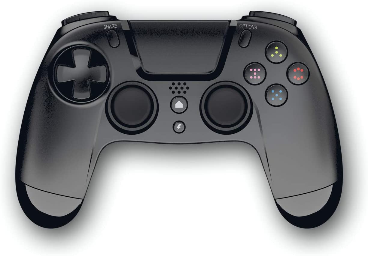 Gioteck VX-4 Wireless Controller - Black (PS4 & PC)