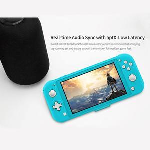 Image 5 - Беспроводной аудиопередатчик GuliKit NS07 Pro, маршрут Air, голосовой чат, USB C, Bluetooth, аудиоадаптер для Nintendo Switch Lite, PS4, ПК