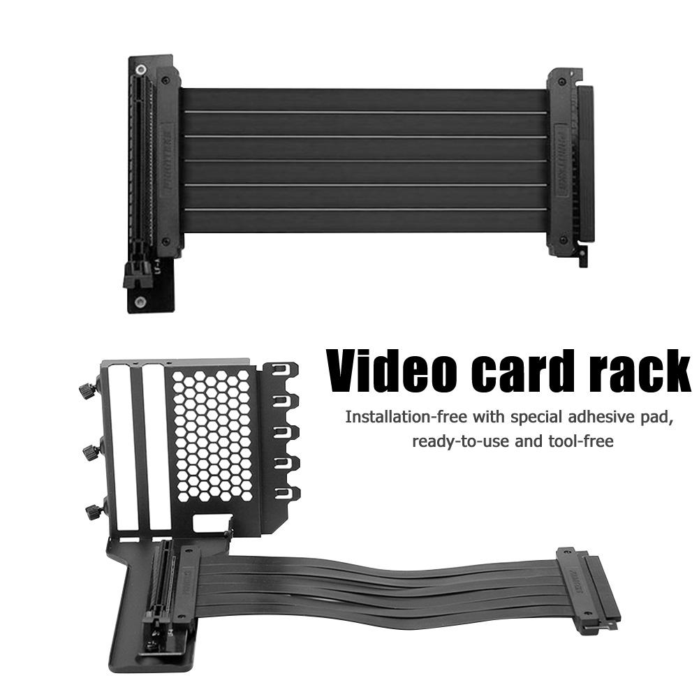 حامل بطاقة رسومي لـ PHANTEKS ، حامل عمودي لبطاقة فيديو سطح المكتب لـ 7 قطع